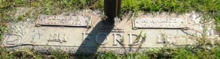 FORD, LOUISE E. - Saline County, Arkansas   LOUISE E. FORD - Arkansas Gravestone Photos