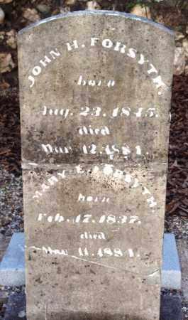 FORSYTH, MARY E - Saline County, Arkansas | MARY E FORSYTH - Arkansas Gravestone Photos