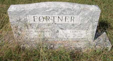 FORTNER, CLINE - Saline County, Arkansas | CLINE FORTNER - Arkansas Gravestone Photos