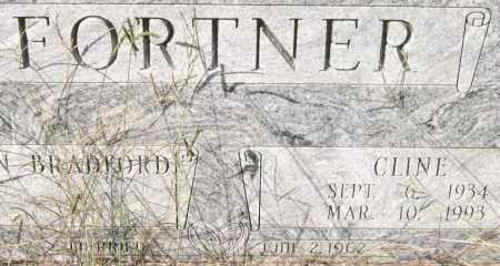FORTNER, CLINE (CLOSEUP) - Saline County, Arkansas | CLINE (CLOSEUP) FORTNER - Arkansas Gravestone Photos