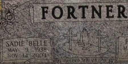 FORTNER, SADIE BELLE (CLOSEUP) - Saline County, Arkansas | SADIE BELLE (CLOSEUP) FORTNER - Arkansas Gravestone Photos