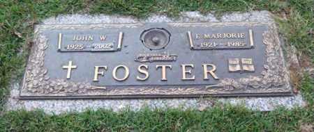 FOSTER, E. MARJORIE - Saline County, Arkansas | E. MARJORIE FOSTER - Arkansas Gravestone Photos