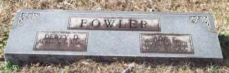 FOWLER, ADA L. - Saline County, Arkansas   ADA L. FOWLER - Arkansas Gravestone Photos