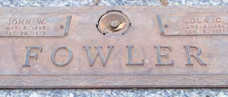FOWLER, LOLA C. - Saline County, Arkansas | LOLA C. FOWLER - Arkansas Gravestone Photos