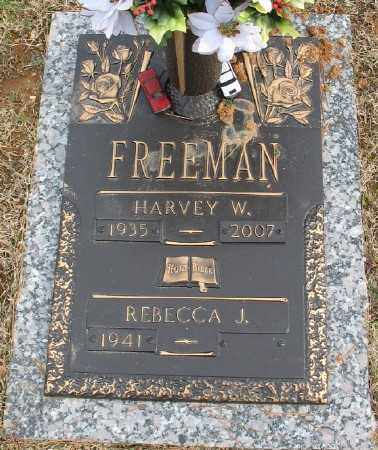 FREEMAN, HARVEY W. - Saline County, Arkansas | HARVEY W. FREEMAN - Arkansas Gravestone Photos