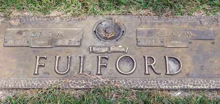 FULFORD, DORIS M. - Saline County, Arkansas | DORIS M. FULFORD - Arkansas Gravestone Photos