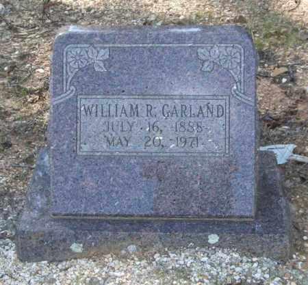 GARLAND, WILLIAM R. - Saline County, Arkansas | WILLIAM R. GARLAND - Arkansas Gravestone Photos