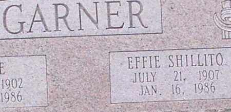 GARNER, EFFIE (CLOSEUP) - Saline County, Arkansas | EFFIE (CLOSEUP) GARNER - Arkansas Gravestone Photos