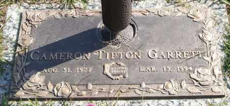 GARRETT, CAMERON TIPTON - Saline County, Arkansas | CAMERON TIPTON GARRETT - Arkansas Gravestone Photos