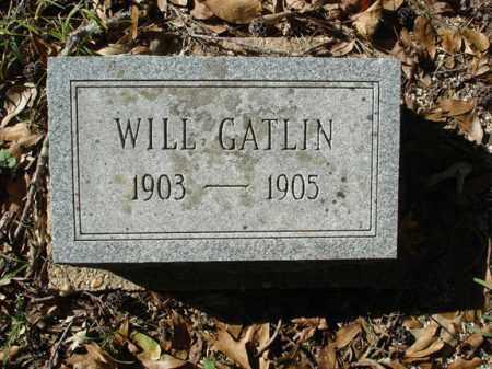 GATLIN, WILL - Saline County, Arkansas | WILL GATLIN - Arkansas Gravestone Photos