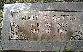 GATTIN, MARY SURILDA - Saline County, Arkansas | MARY SURILDA GATTIN - Arkansas Gravestone Photos