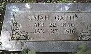 GATTIN, URIAH - Saline County, Arkansas | URIAH GATTIN - Arkansas Gravestone Photos