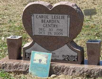 BEARDEN GENTRY, CAROL LESLIE - Saline County, Arkansas   CAROL LESLIE BEARDEN GENTRY - Arkansas Gravestone Photos