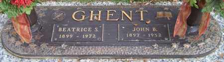 GHENT, BEATRICE S. - Saline County, Arkansas | BEATRICE S. GHENT - Arkansas Gravestone Photos