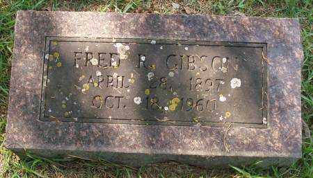 GIBSON, FRED R. - Saline County, Arkansas | FRED R. GIBSON - Arkansas Gravestone Photos