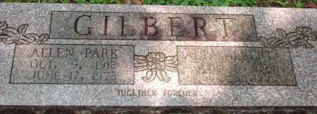 GILBERT, ALLEN - Saline County, Arkansas   ALLEN GILBERT - Arkansas Gravestone Photos