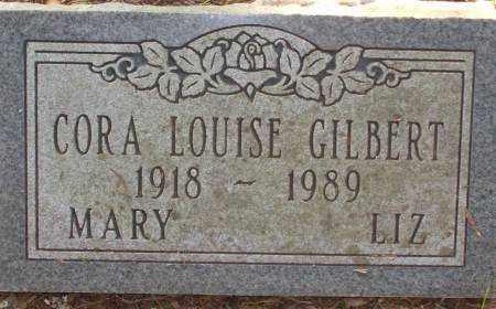 GILBERT, CORA LOUISE - Saline County, Arkansas | CORA LOUISE GILBERT - Arkansas Gravestone Photos