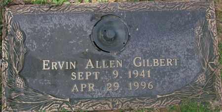 GILBERT, ERVIN ALLEN - Saline County, Arkansas | ERVIN ALLEN GILBERT - Arkansas Gravestone Photos