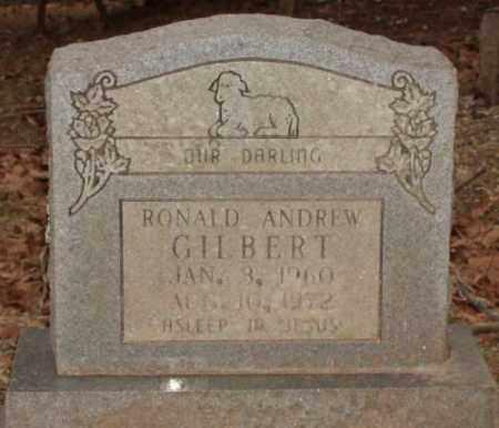 GILBERT, ROANLD ANDREW - Saline County, Arkansas | ROANLD ANDREW GILBERT - Arkansas Gravestone Photos