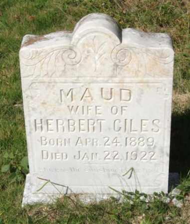 GILES, MAUD - Saline County, Arkansas   MAUD GILES - Arkansas Gravestone Photos