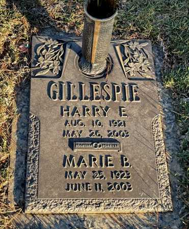 GILLESPIE, HARRY E. - Saline County, Arkansas | HARRY E. GILLESPIE - Arkansas Gravestone Photos