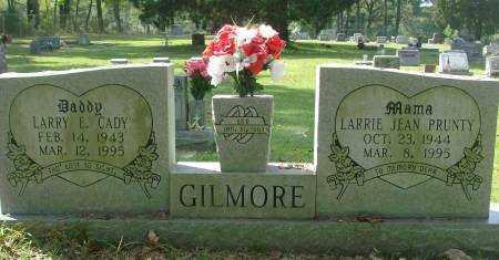 PRUNTY GILMORE, LARRIE - Saline County, Arkansas | LARRIE PRUNTY GILMORE - Arkansas Gravestone Photos