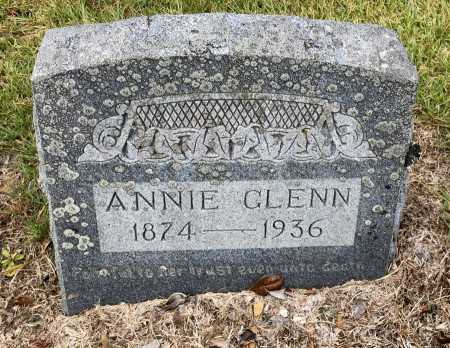 GLENN, ANNIE - Saline County, Arkansas | ANNIE GLENN - Arkansas Gravestone Photos
