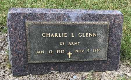 GLENN (VETERAN), CHARLIE L - Saline County, Arkansas | CHARLIE L GLENN (VETERAN) - Arkansas Gravestone Photos
