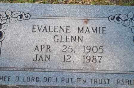 GLENN, EVALENE MAMIE - Saline County, Arkansas | EVALENE MAMIE GLENN - Arkansas Gravestone Photos