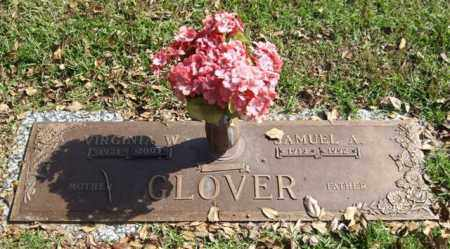 GLOVER, VIRGINIA W. - Saline County, Arkansas | VIRGINIA W. GLOVER - Arkansas Gravestone Photos