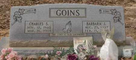 GOINS, CHARLES S. - Saline County, Arkansas   CHARLES S. GOINS - Arkansas Gravestone Photos