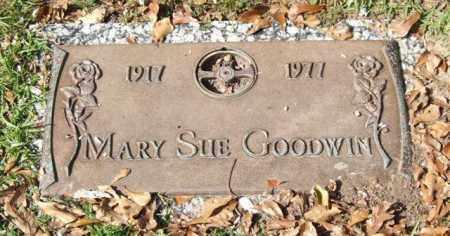 GOODWIN, MARY SUE - Saline County, Arkansas | MARY SUE GOODWIN - Arkansas Gravestone Photos