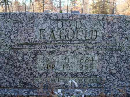 GOULD, F.A. - Saline County, Arkansas | F.A. GOULD - Arkansas Gravestone Photos