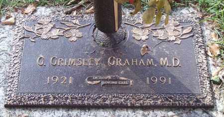 GRAHAM, G. GRIMSLEY - Saline County, Arkansas   G. GRIMSLEY GRAHAM - Arkansas Gravestone Photos