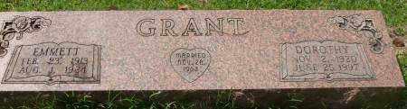 GRANT, EMMETT - Saline County, Arkansas | EMMETT GRANT - Arkansas Gravestone Photos