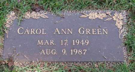GREEN, CAROL ANN - Saline County, Arkansas | CAROL ANN GREEN - Arkansas Gravestone Photos