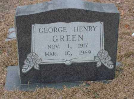 GREEN, GEORGE HENRY - Saline County, Arkansas | GEORGE HENRY GREEN - Arkansas Gravestone Photos