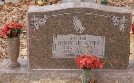GREEN, HENRY LEE - Saline County, Arkansas | HENRY LEE GREEN - Arkansas Gravestone Photos