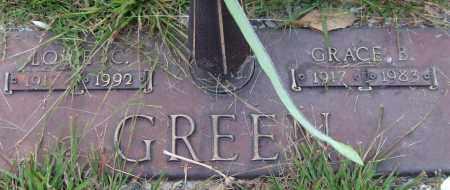 GREEN, GRACE B. - Saline County, Arkansas   GRACE B. GREEN - Arkansas Gravestone Photos