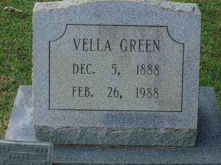 GREEN, VELLA - Saline County, Arkansas   VELLA GREEN - Arkansas Gravestone Photos