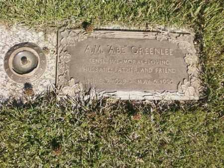 """GREENLEE, A.M. """"ABE"""" - Saline County, Arkansas   A.M. """"ABE"""" GREENLEE - Arkansas Gravestone Photos"""