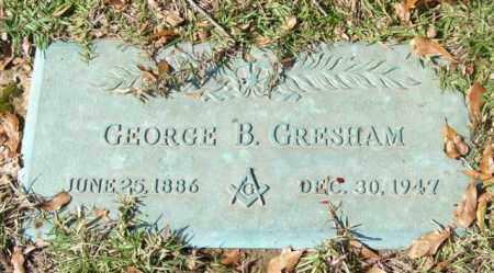 GRESHAM, GEORGE B. - Saline County, Arkansas | GEORGE B. GRESHAM - Arkansas Gravestone Photos
