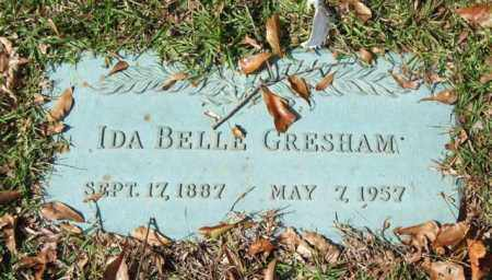 GRESHAM, IDA BELLE - Saline County, Arkansas | IDA BELLE GRESHAM - Arkansas Gravestone Photos