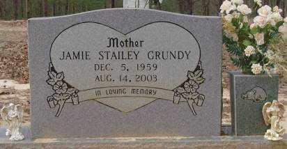 GRUNDY, JAMIE SUE - Saline County, Arkansas | JAMIE SUE GRUNDY - Arkansas Gravestone Photos
