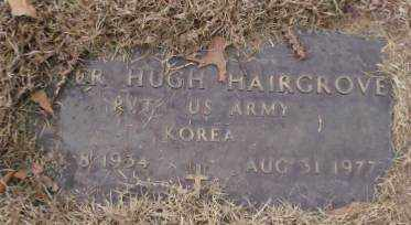 HAIRGROVE (VETERAN KOR), LESTER HUGH - Saline County, Arkansas | LESTER HUGH HAIRGROVE (VETERAN KOR) - Arkansas Gravestone Photos