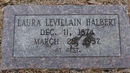 LEVILLAIN HALBERT, LAURA - Saline County, Arkansas | LAURA LEVILLAIN HALBERT - Arkansas Gravestone Photos