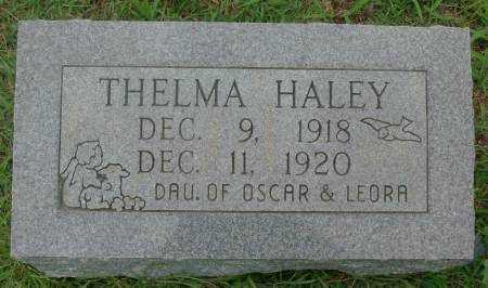 HALEY, THELMA - Saline County, Arkansas | THELMA HALEY - Arkansas Gravestone Photos