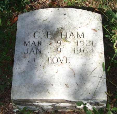 HAM, C. E. - Saline County, Arkansas | C. E. HAM - Arkansas Gravestone Photos