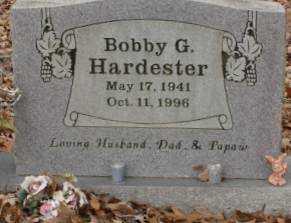 HARDESTER, BOBBY G. - Saline County, Arkansas | BOBBY G. HARDESTER - Arkansas Gravestone Photos