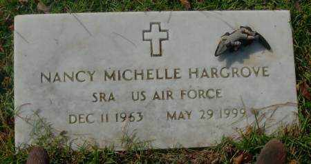 HARGROVE  (VETERAN), NANCY MICHELLE - Saline County, Arkansas | NANCY MICHELLE HARGROVE  (VETERAN) - Arkansas Gravestone Photos